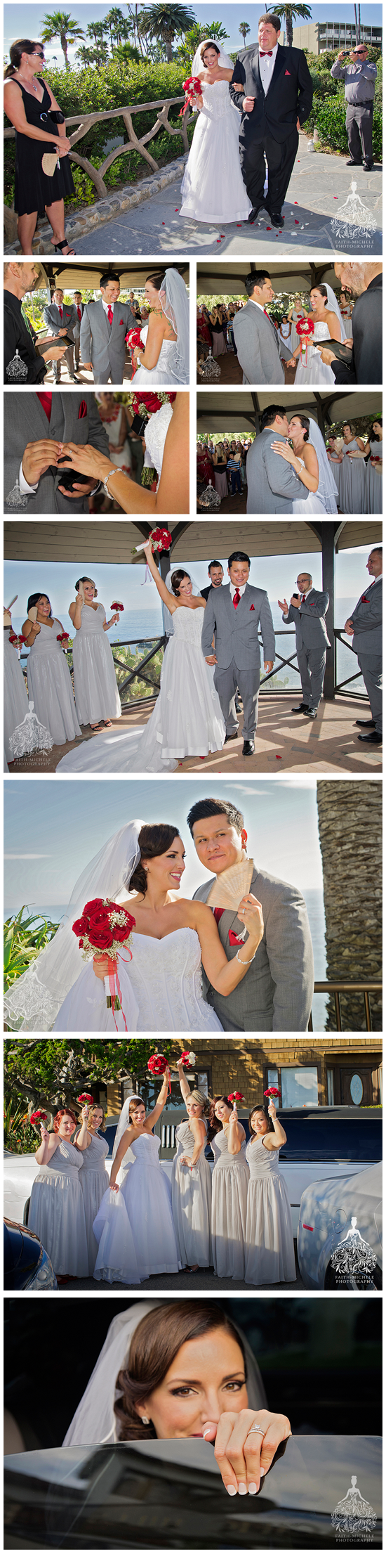 3 Heisler Park At Laguna Beach Wedding Photo