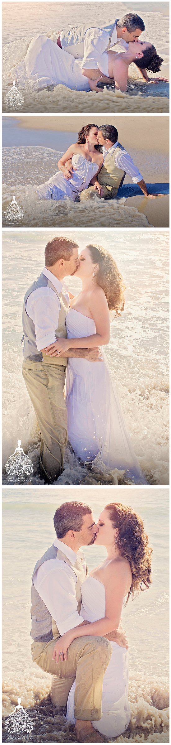 Venice Beach wedding photo