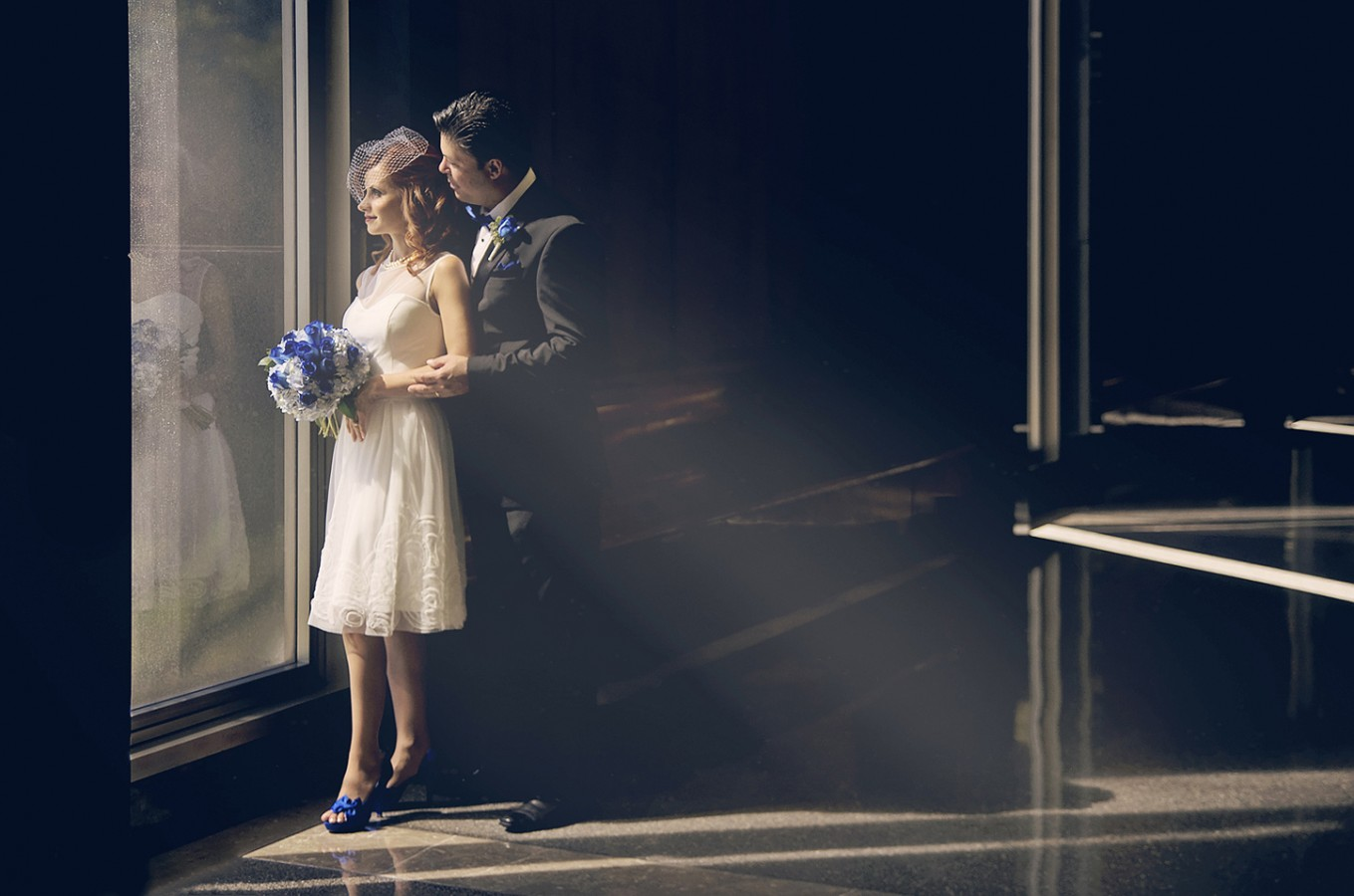 Renata Sergio Beverly Hills Courthouse Wedding Photographer
