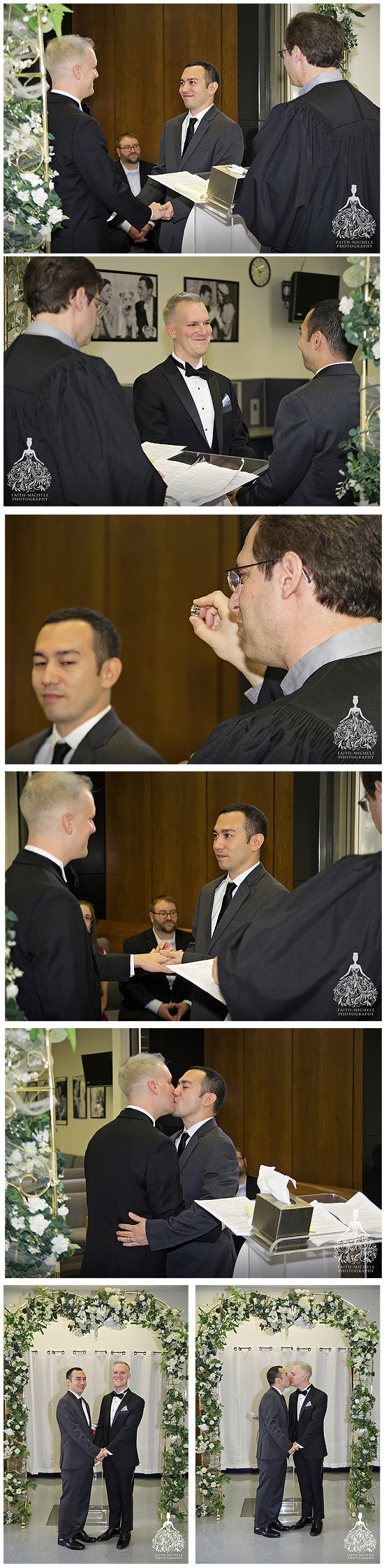 Beverly Hills Courthouse same sex wedding