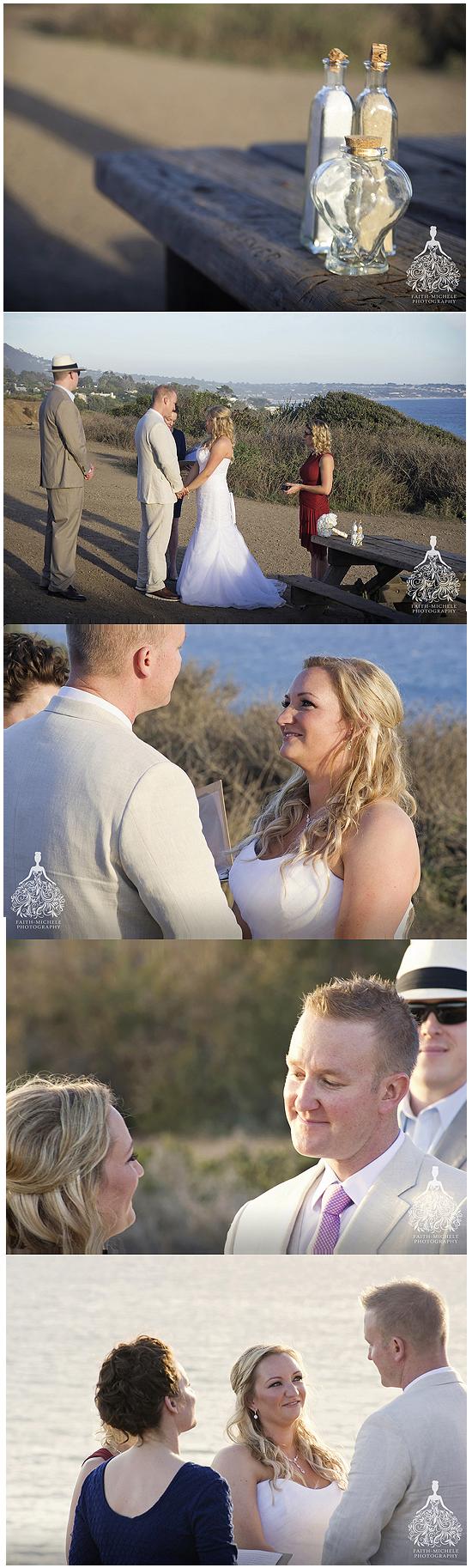 El Matador Beach elopement