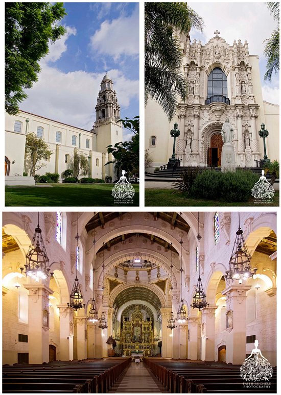 St Vincent De Paul Los Angeles Wedding Photo