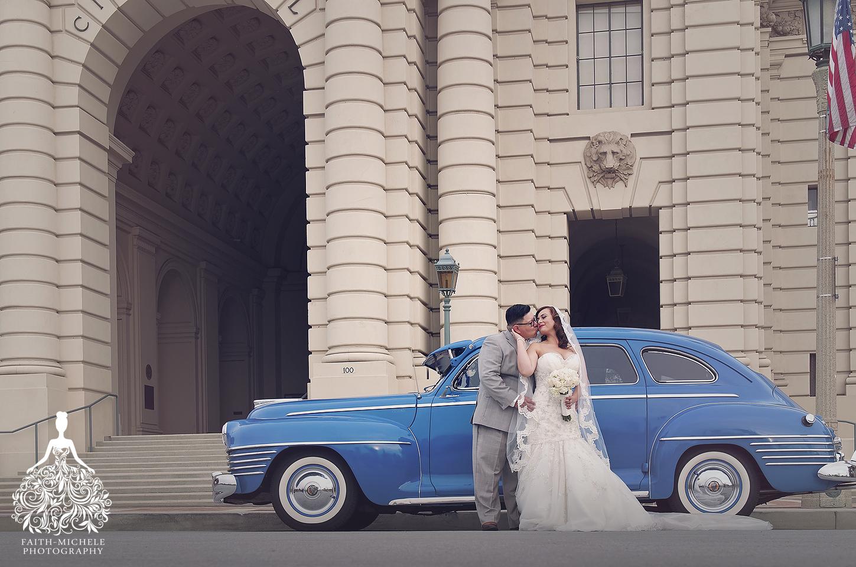St Elizabeth S Church Pasadena City Hall Wedding Photographer